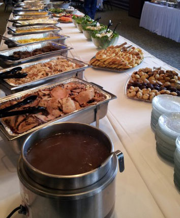 Catered Food delicious